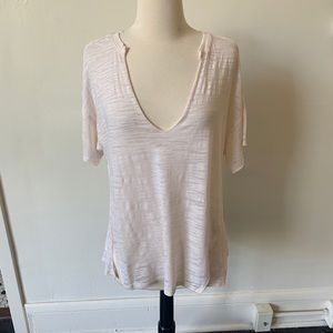 NWOT Free People white t shirt